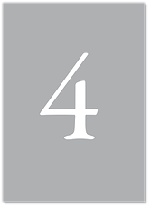 Иней - номер стола