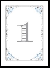 Зимний дворец - номер стола №1
