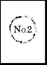 Черное и белое - номер стола