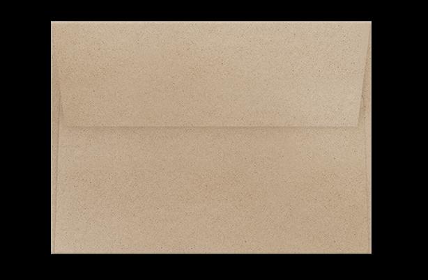 Крафтовый конверт  с прямым клапаном