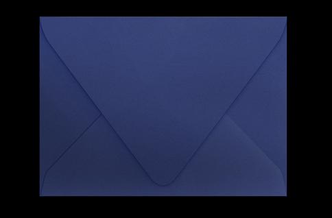 Тёмно-синий конверт с треугольным клапаном