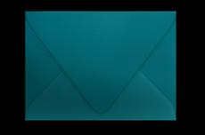 Конверт с треугольным клапаном цвета морской волны