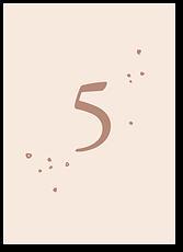 Медовый цветок - номер стола