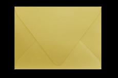 Желто-грушевый конверт с треугольным клапаном