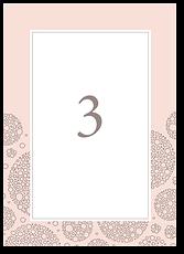 Воздушный шоколад - номер стола