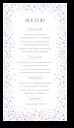 Цветочная вуаль - меню