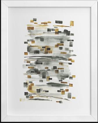 Акварельная абстракция