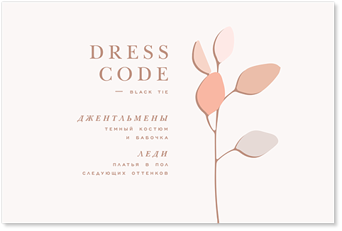 Эвкалипт - карта дресс-кода