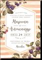 Ежевика - свадебное приглашение