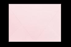 Светло-розовый конверт с треугольным клапаном