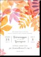 Осенний день - свадебное приглашение
