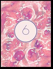 Розовые сны - номер стола