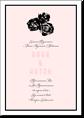 Розы - свадебное приглашение №2