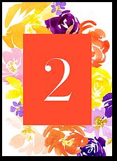 Палитра красок - номер стола