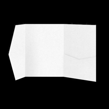 Папка из белой бумаги