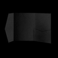 Папка из чёрной бумаги
