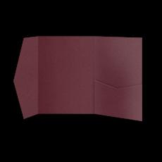 Папка из бордовой бумаги