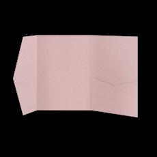 Папка из пудрово-розовой бумаги