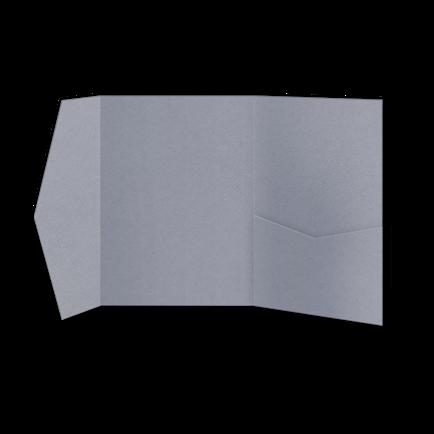 Папка из серо-лавандовой бумаги
