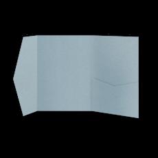 Папка из голубой бумаги