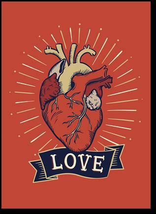 """Открытка """"Love"""""""