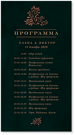 Амперсанд - программа дня