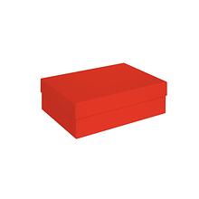 Коробка алая 210х150х70 мм