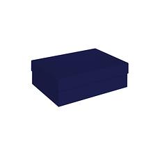 Коробка тёмно-синяя 210х150х70 мм