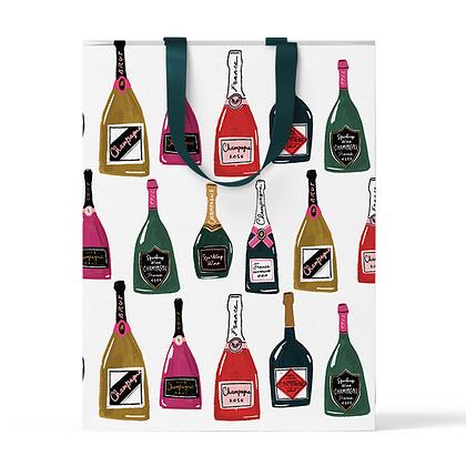 """Пакет подарочный """"Шампанское"""" А4"""