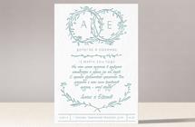 Венки - свадебное приглашение №2