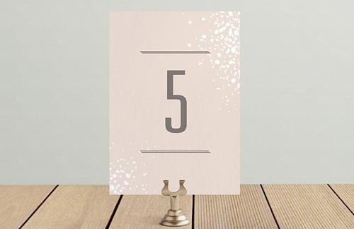 Брызги шампанского - номер стола