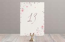 Нежное цветение - номер стола