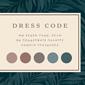 Mini square dress code close up